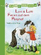 Cover-Bild zu Schröder, Patricia: Erst ich ein Stück, dann du - Leni & Lotti - Ferien auf dem Ponyhof (eBook)