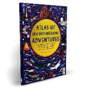 Cover-Bild zu Atlas of Record-Breaking Adventures: A Collection of the Biggest, Fastest, Longest, Hottest, Toughest, Tallest and Most Deadly Things from Around the von Hawkins, Emily