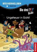 Cover-Bild zu Die drei ??? Kids, Bücherhelden 2. Klasse, Ungeheuer in Sicht! von Blanck, Ulf