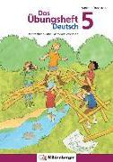 Cover-Bild zu Das Übungsheft Deutsch 5 von Drecktrah, Stefanie