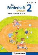 Cover-Bild zu Das Förderheft Deutsch 2 von Drecktrah, Stefanie