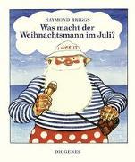 Cover-Bild zu Briggs, Raymond: Was macht der Weihnachtsmann im Juli?