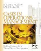 Cover-Bild zu Cases in Operations Management von Klassen, Robert D.
