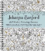 Cover-Bild zu Basford, Johanna: Johanna Basford 2021 Weekly Coloring Planner Calendar