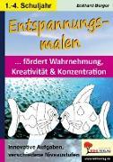 Cover-Bild zu Entspannungsmalen / Klasse 1-4 (eBook) von Berger, Eckhard