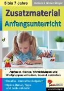Cover-Bild zu Zusatzmaterial Anfangsunterricht (eBook) von Berger, Barbara