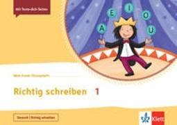 Cover-Bild zu Mein Anoki-Übungsheft. Richtig schreiben 1. Übungsheft Klasse 1