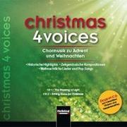 Cover-Bild zu christmas 4 voices, Doppel-CD von Maierhofer, Lorenz (Hrsg.)