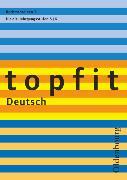 Cover-Bild zu Topfit Deutsch, 5./6. Jahrgangsstufe, Rechtschreiben 1, Arbeitsheft mit Lösungen von Jückstock-Kießling, Nathali