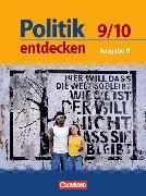Cover-Bild zu Berger-v. d. Heide, Thomas: Politik entdecken 9./10. Schuljahr. Schülerbuch. NI