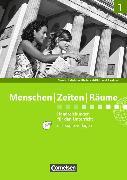 Cover-Bild zu Berger-v. d. Heide, Thomas (Hrsg.): Menschen Zeiten Räume 1. Neue Ausgabe. Handreichungen für den Unterricht mit CD-ROM. RP,SL