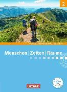 Cover-Bild zu Berger-v. d. Heide, Thomas (Hrsg.): Menschen Zeiten Räume 2. Integrierte Gesellschaftslehre 7./8. SJ. Schülerbuch. RP/SL