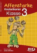 Cover-Bild zu Affenstarke Knobelkartei 3 von Lohr, Nicole