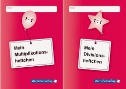 Cover-Bild zu Langhans, Katrin: Mein Multiplikationsheftchen und mein Divisionsheftchen im Kombi