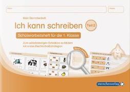 Cover-Bild zu Langhans, Katrin: Ich kann schreiben Teil 2. Mein Sternchenheft für die 1. Klasse