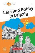 Cover-Bild zu Die junge DaF-Bibliothek, A2, Lara und Robby in Leipzig, Lektüre mit Audios online von Banas, Gabriele