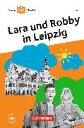 Cover-Bild zu Die junge DaF-Bibliothek: Lara und Robby in Leipzig,A2 (eBook) von Kiesele, Kathrin