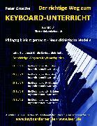 Cover-Bild zu Der richtige Weg zum Keyboard-Unterricht - Band 2 (eBook) von Grosche, Peter
