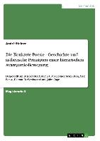 Cover-Bild zu Die Konkrete Poesie - Geschichte und ästhetische Prinzipien einer literarischen Avantgarde-Bewegung von Steiner, André