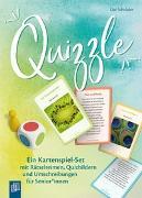 Cover-Bild zu Quizzle - Kartenspiel-Set von Schröder, Ute