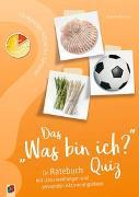 """Cover-Bild zu 10-Minuten-Rätsel für Senioren: Das """"Was bin ich?"""" - Quiz von Hofmann, Siglinde"""