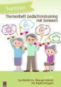 Cover-Bild zu Themenheft Gedächtnistraining mit Senioren: Sommer von Kelkel, Sabine