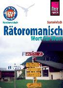 Cover-Bild zu Janzing, Gereon: Rätoromanisch - Wort für Wort (Surselvisch, Rumantsch, Bündnerromanisch, Surselvan) (eBook)
