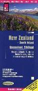 Cover-Bild zu Peter Rump, Reise Know-How Verlag: Reise Know-How Landkarte Neuseeland, Südinsel (1:550.000). 1:550'000