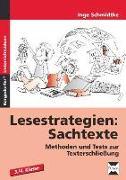 Cover-Bild zu Lesestrategien: Sachtexte von Schmidtke, Inge