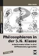 Cover-Bild zu Philosophieren in der 5./6. Klasse von Holtz, Silke