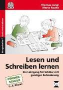 Cover-Bild zu Lesen und Schreiben lernen von Jung, Thomas