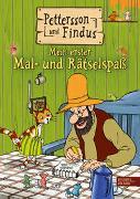 Cover-Bild zu Nordqvist, Sven: Pettersson und Findus: Mein erster Mal- und Rätselspaß
