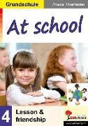 Cover-Bild zu At school / Grundschule (eBook) von Thierfelder, Prisca