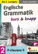 Cover-Bild zu Englische Grammatik kurz & knapp / Band 2 von Thierfelder, Prisca