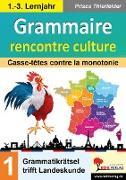 Cover-Bild zu Gammaire rencontre culture von Thierfelder, Prisca