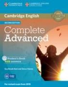 Cover-Bild zu Complete Advanced. Student's Book Pack von Brook-Hart, Guy