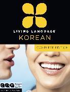 Cover-Bild zu Living Language Korean, Complete Edition von Living Language