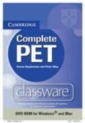 Cover-Bild zu Complete Pet Classware DVD-ROM von Heyderman, Emma