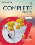 Cover-Bild zu Complete Preliminary Student's Book with Answers with Online Workbook von May, Peter