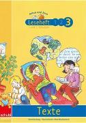Cover-Bild zu Anton und Zora / Leseheft 3: Texte von Jockweg, Bernd