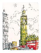 Cover-Bild zu London Big Ben Handmade Journal