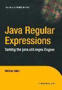 Cover-Bild zu Java Regular Expressions (eBook) von Habibi, Mehran