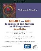 Cover-Bild zu ADO.NET and ADO Examples and Best Practices for VB Programmers (eBook) von Vaughn, William