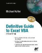 Cover-Bild zu Definitive Guide to Excel VBA (eBook) von Kofler, Michael