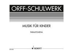 Cover-Bild zu Paralipomena von Keetman, Gunild (Komponist)
