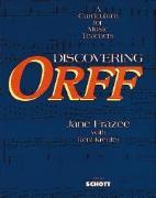 Cover-Bild zu Discovering Orff von Frazee, Jane
