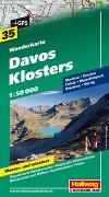Cover-Bild zu Hallwag Kümmerly+Frey AG (Hrsg.): Davos, Klosters Wanderkarte Nr. 35, 1:50 000. 1:50'000