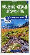 Cover-Bild zu Hallwag Kümmerly+Frey AG (Hrsg.): Hasliberg - Grimsel Obergoms - Titlis Nr. 32 Wanderkarte 1:40 000. 1:40'000