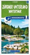 Cover-Bild zu Hallwag Kümmerly+Frey AG (Hrsg.): Zürcher Unterland - Winterthur Nr. 08 Wanderkarte 1:40 000. 1:40'000