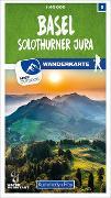 Cover-Bild zu Hallwag Kümmerly+Frey AG (Hrsg.): Basel / Solothurner Jura Nr. 05 Wanderkarte 1:40 000. 1:40'000